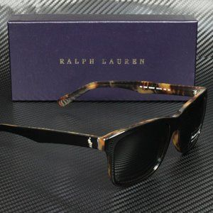 Ralph Lauren Polo Black Tortoise Men's Sunglasses